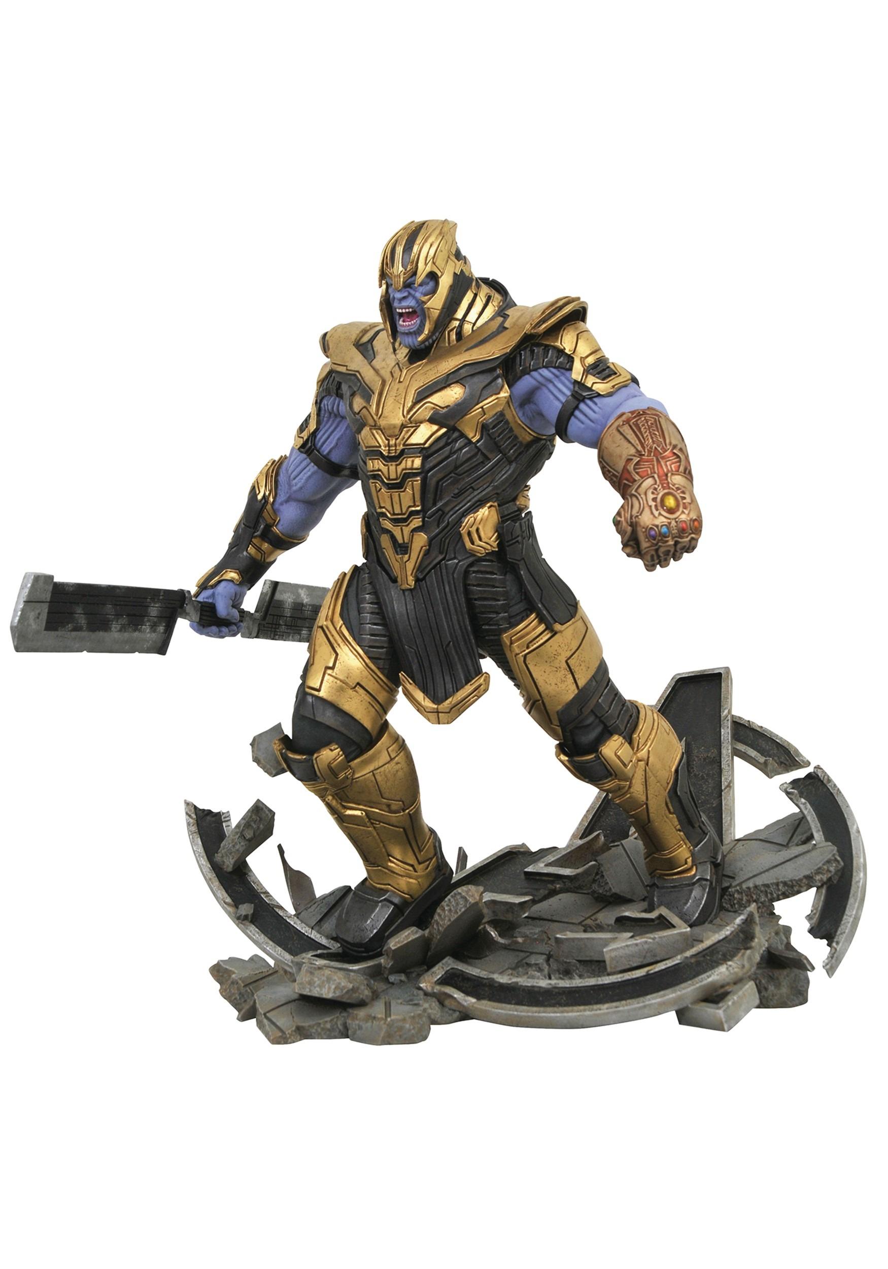 Marvel Milestones Avengers: Endgame Armored Thanos Figure