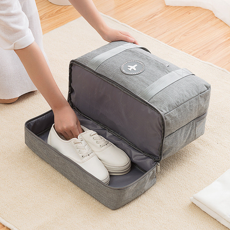 Travel Dry And Wet Separation Bag Fitness Bag Cationic Clothes Storage Bag Portable Sports Bag