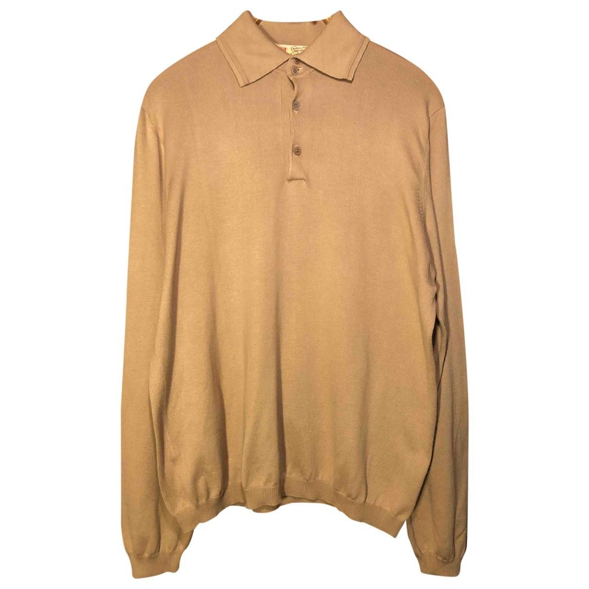 - Polos   pour homme en coton - beige