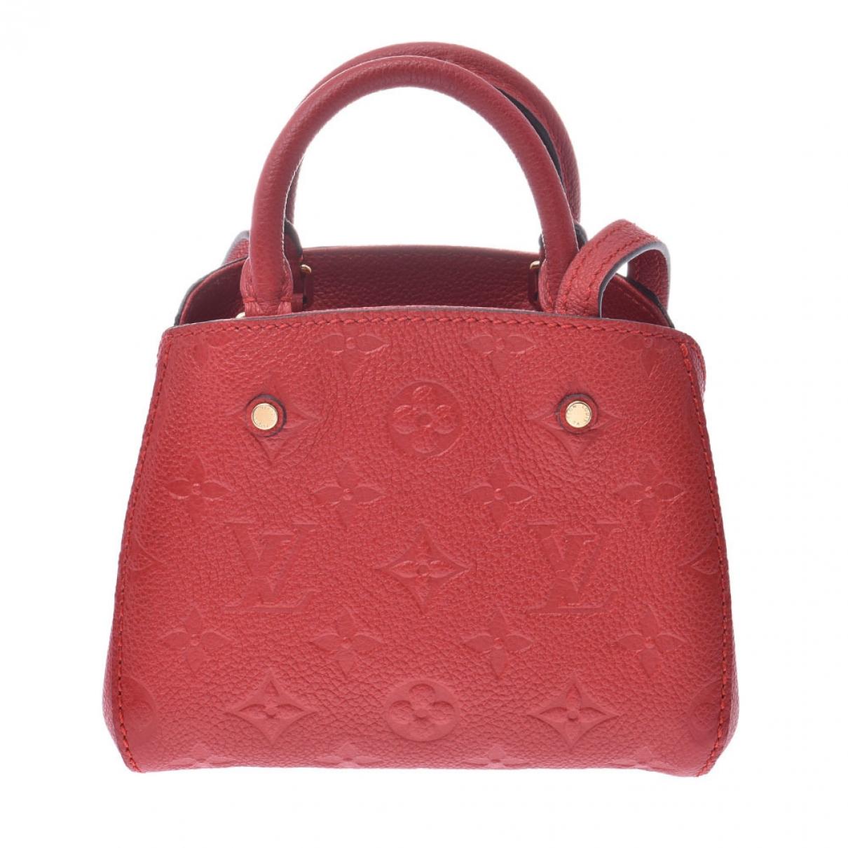 Bolso  Montaigne de Lona Louis Vuitton