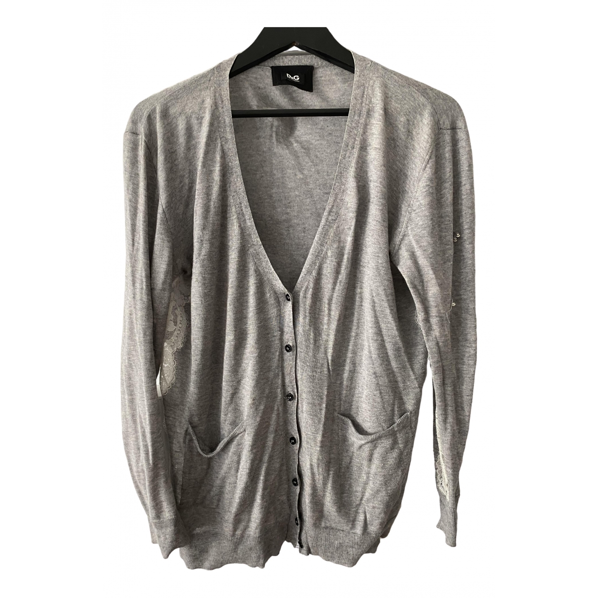 D&g \N Pullover in  Grau Wolle