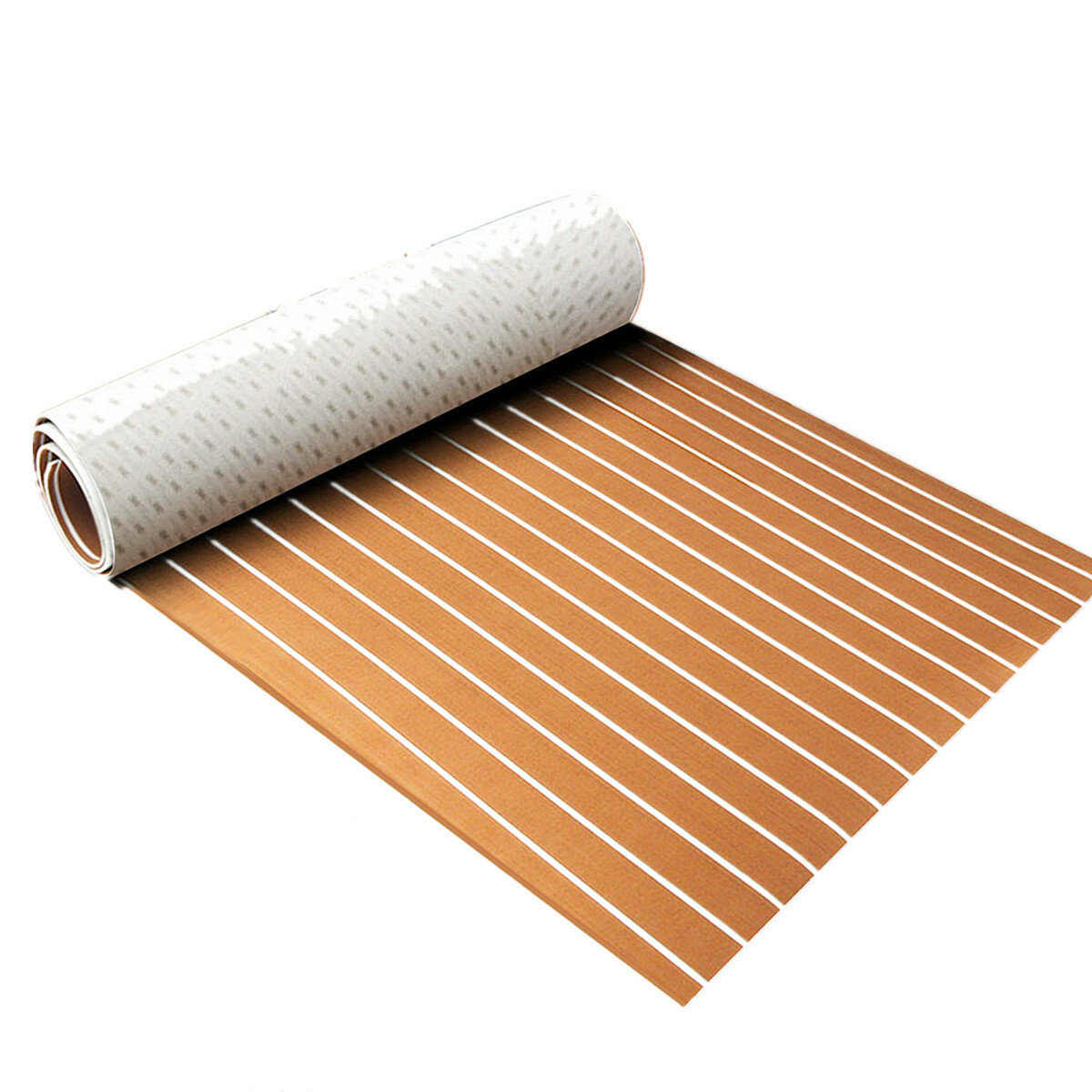 Marine Foam Decking Boat Sheet Non-Slip Yacht Flooring EVA Foam Floor Sheet Self-Adhesive Mat