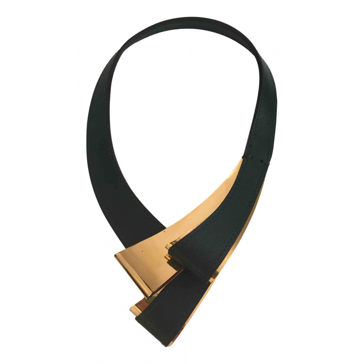 Marni N Green Leather necklace for Women N