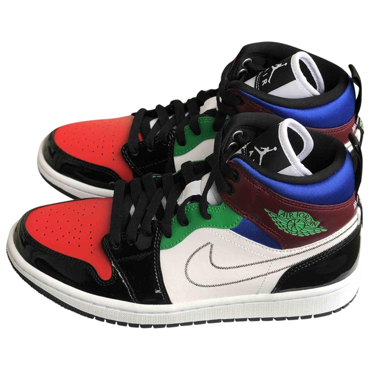 Nike - Baskets   pour femme en caoutchouc - multicolore