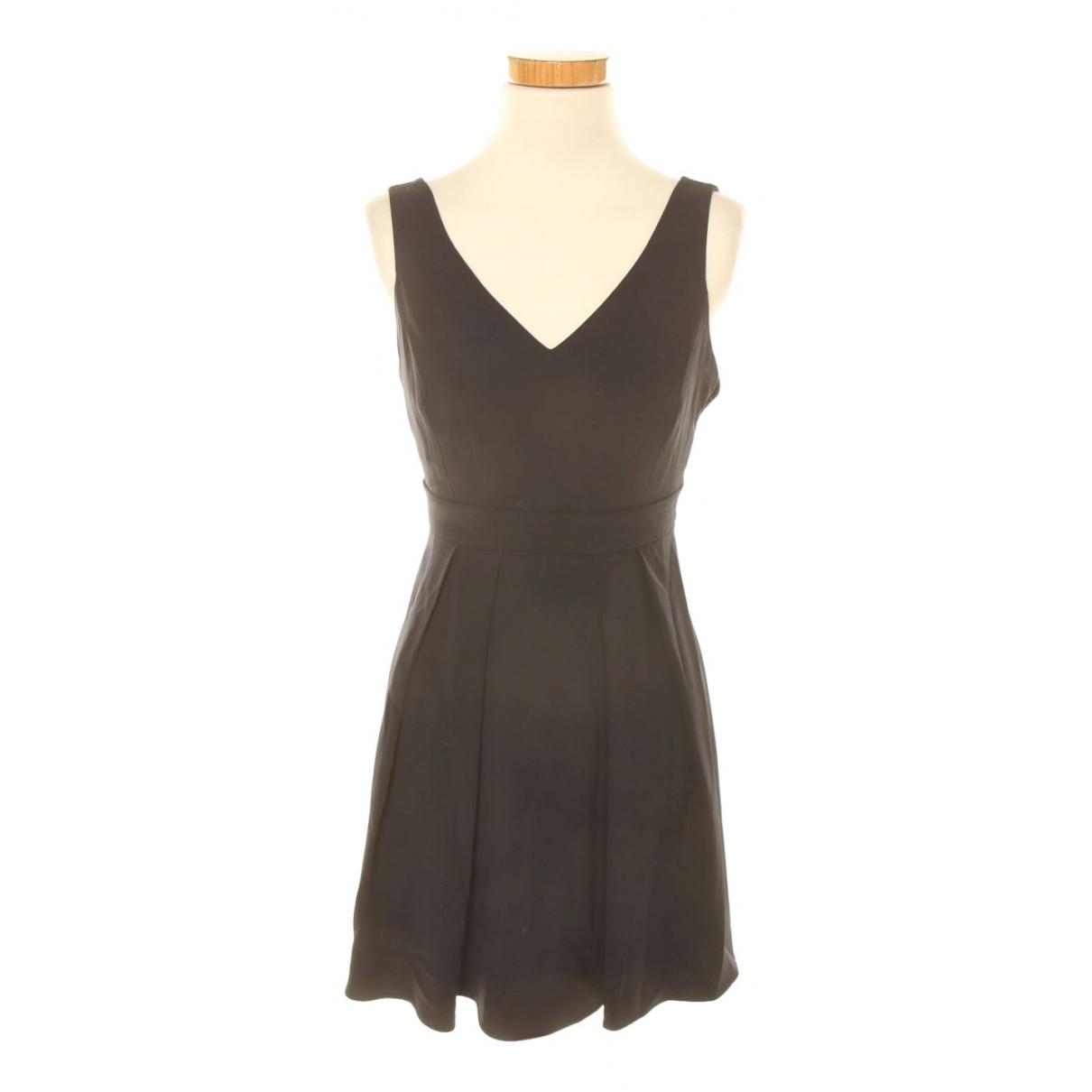 Claudie Pierlot \N Kleid in  Marine Polyester