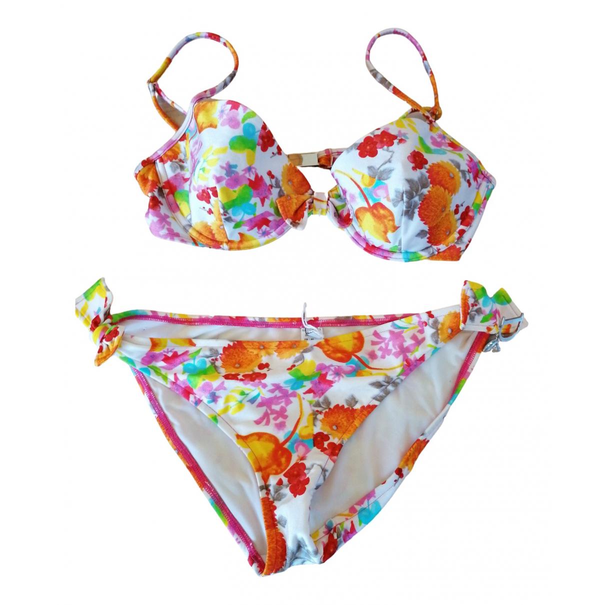 Dior \N Multicolour Cotton - elasthane Swimwear for Women 40 FR