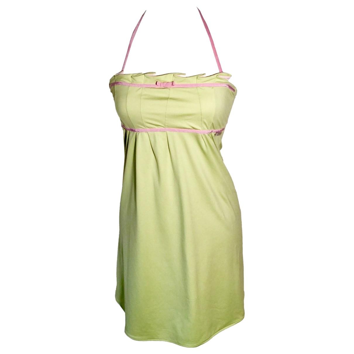 Mini vestido John Galliano