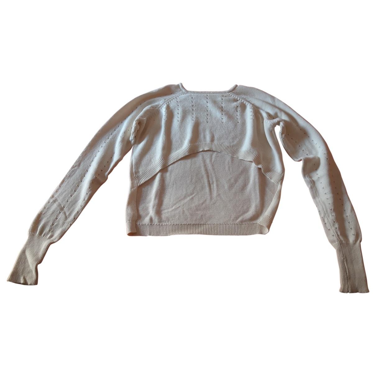 Bloch - Pull   pour femme en coton - blanc