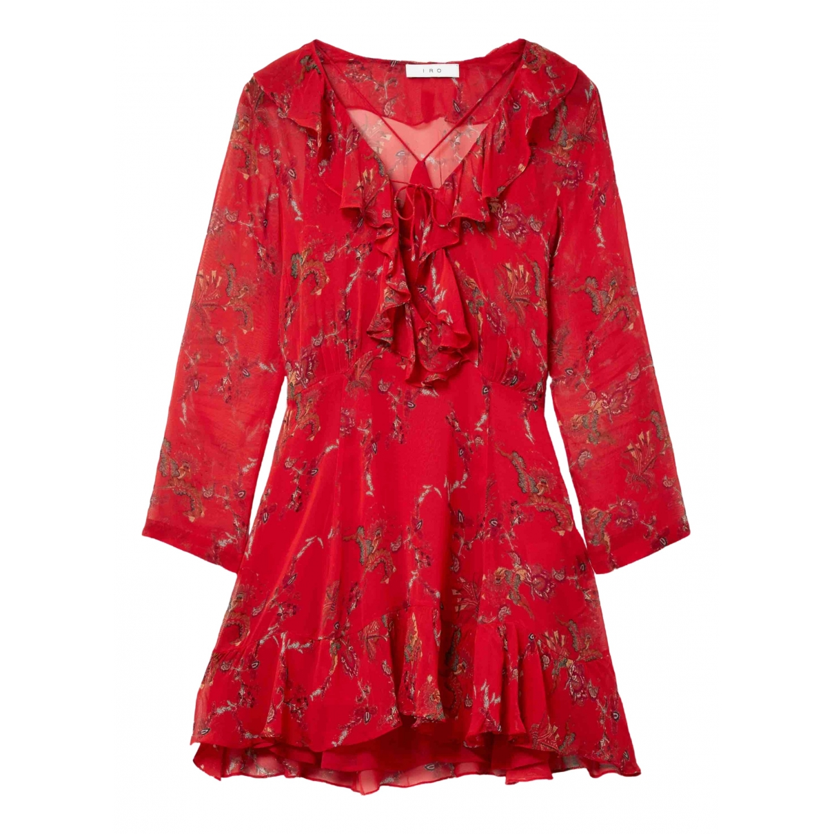 Iro \N Red dress for Women 36 FR