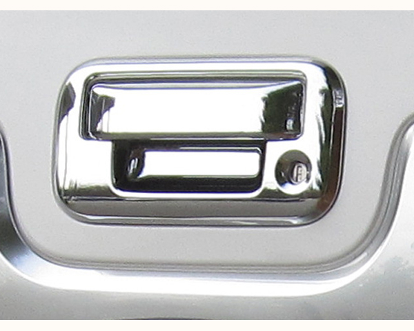 Quality Automotive Accessories ABS   Chrome Tailgate Handle Cover Kit Ford F-150 2013