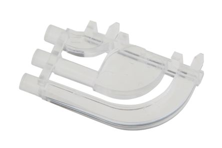 Dialight 515-1064F , PCB Mounted 3-Way Right Angle LED Light Pipe, Tri-Level-Row Clear Round Lens (5)
