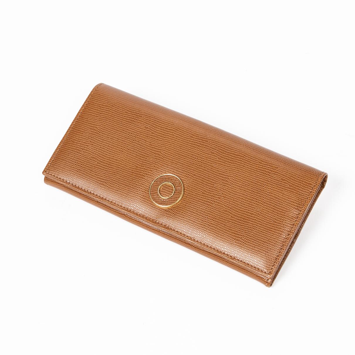 Celine - Portefeuille   pour femme en cuir - marron
