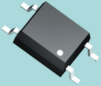 Vishay , VOM617A-X001T DC Input Phototransistor Output Optocoupler, Surface Mount, 4-Pin SOP (25)