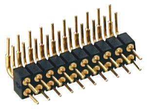 Preci-Dip , 20 Way, 2 Row, Right Angle PCB Header Pin (5)