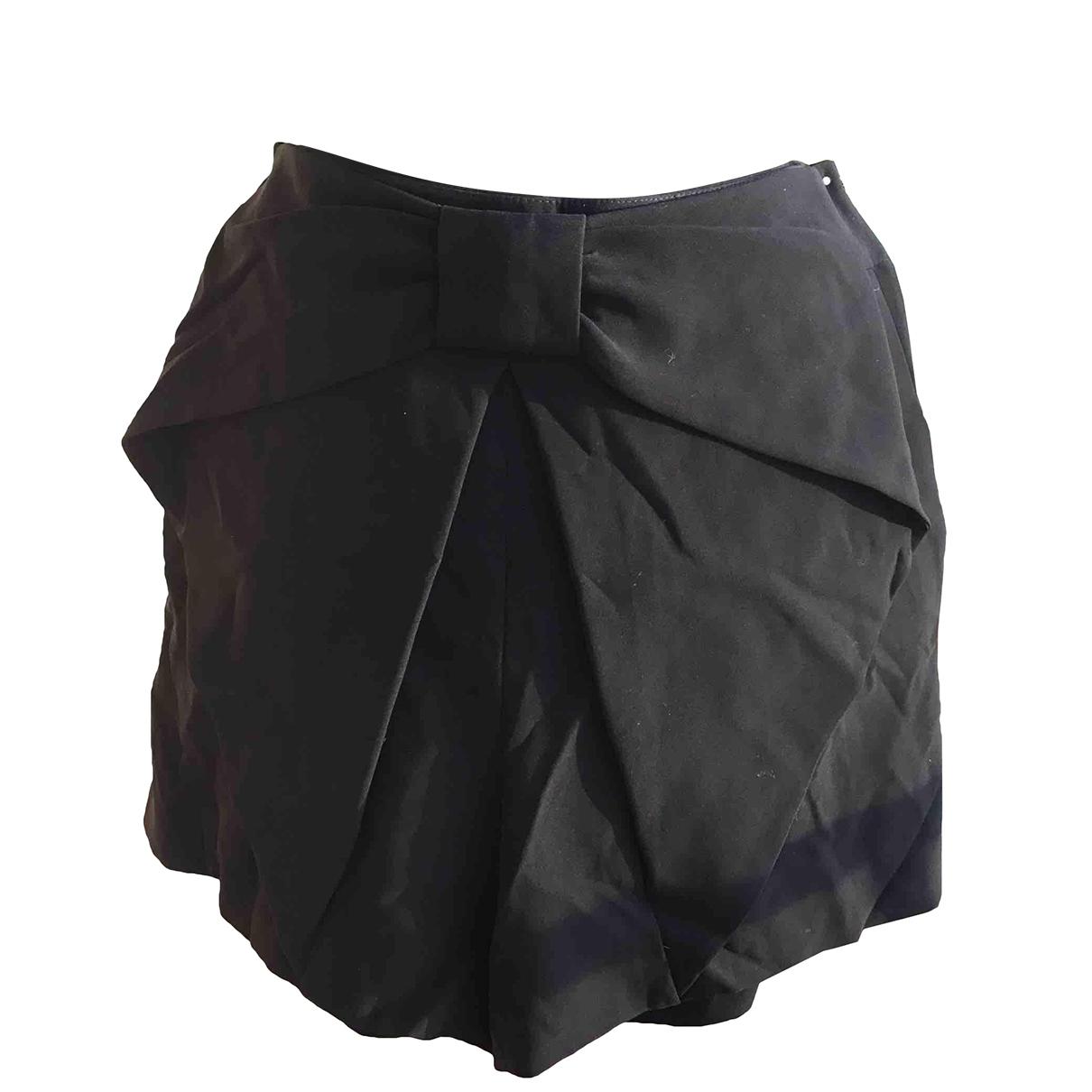 Claudie Pierlot \N Shorts in  Schwarz Synthetik