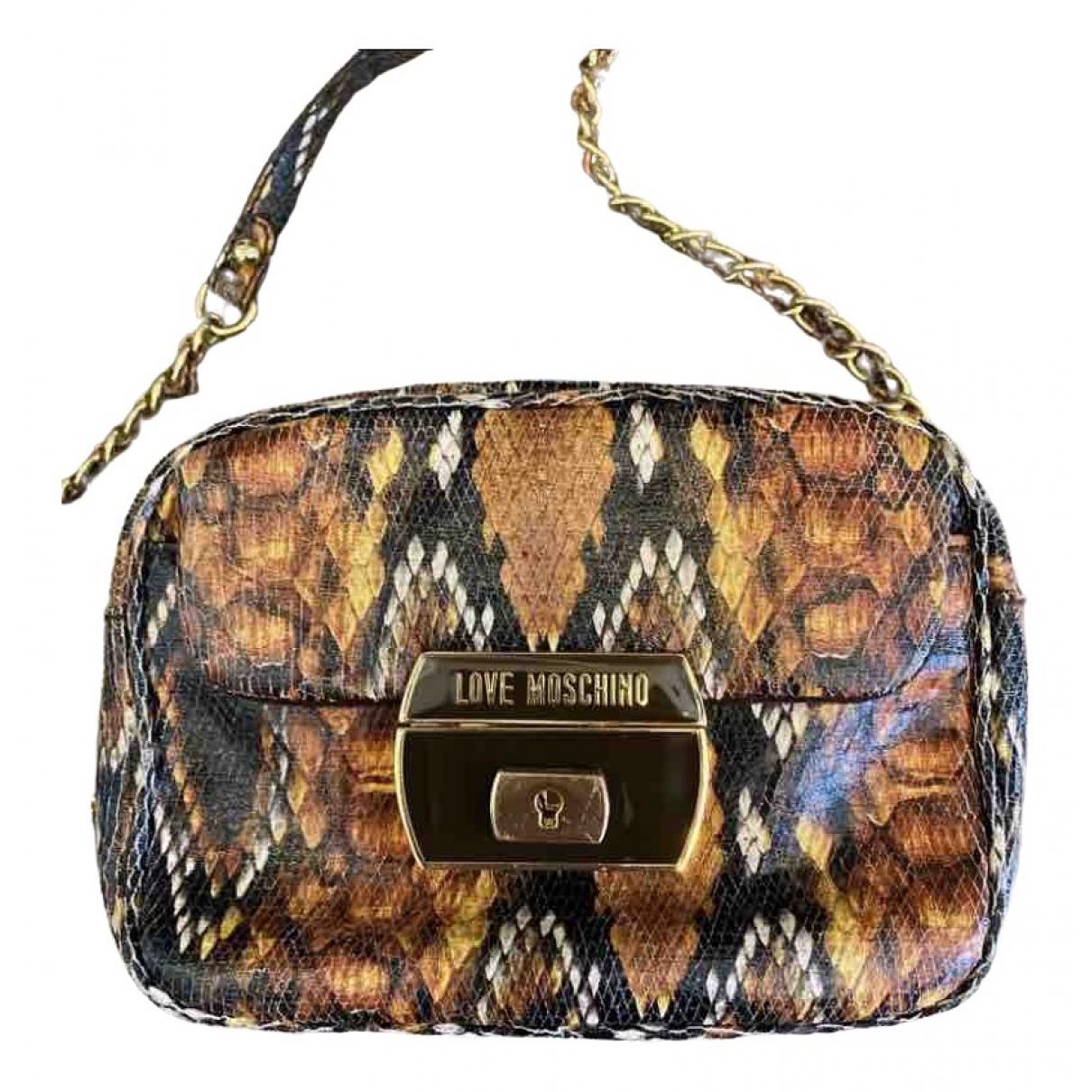 Moschino Love \N Multicolour Python handbag for Women \N