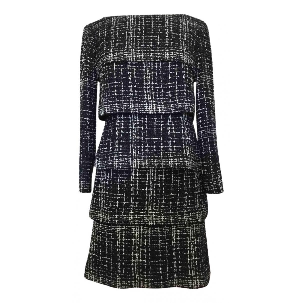 Chanel \N Blue Tweed dress for Women 34 FR