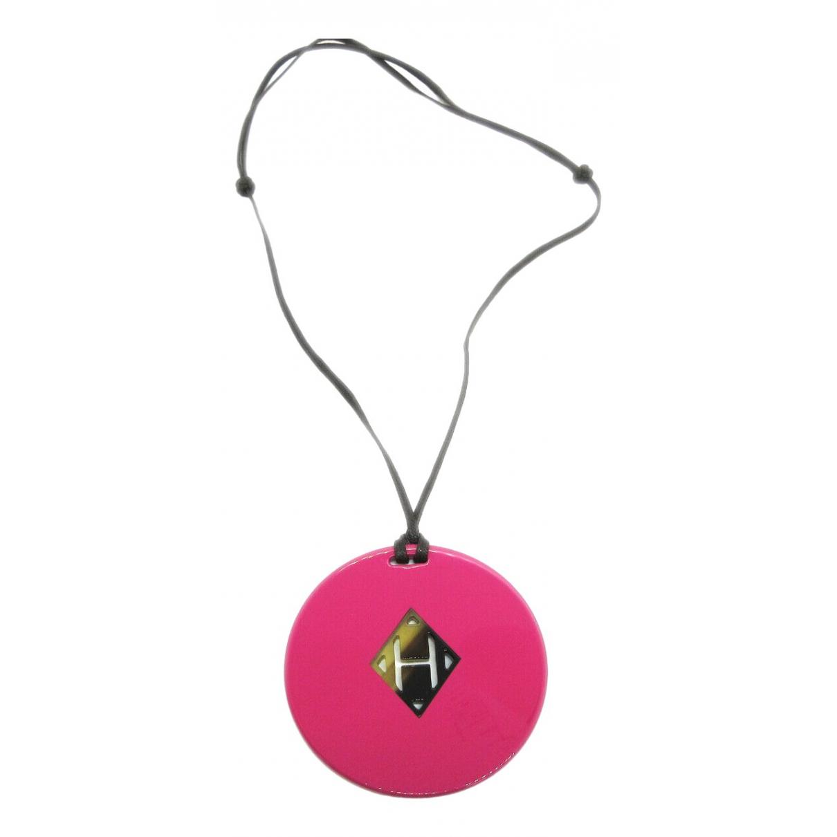 Hermes - Collier   pour femme en metal - rose