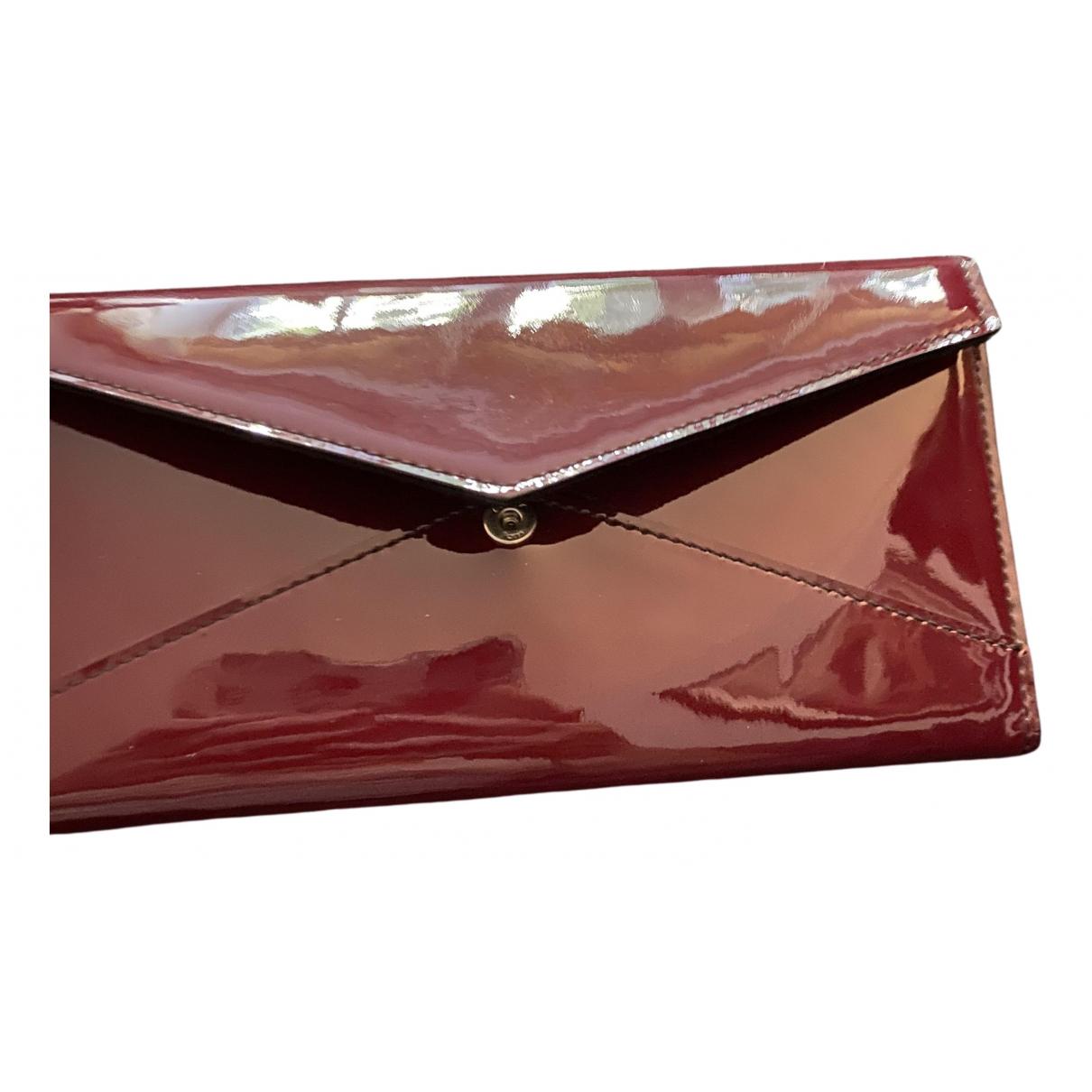 Cartier \N Portemonnaie in  Rot Lackleder