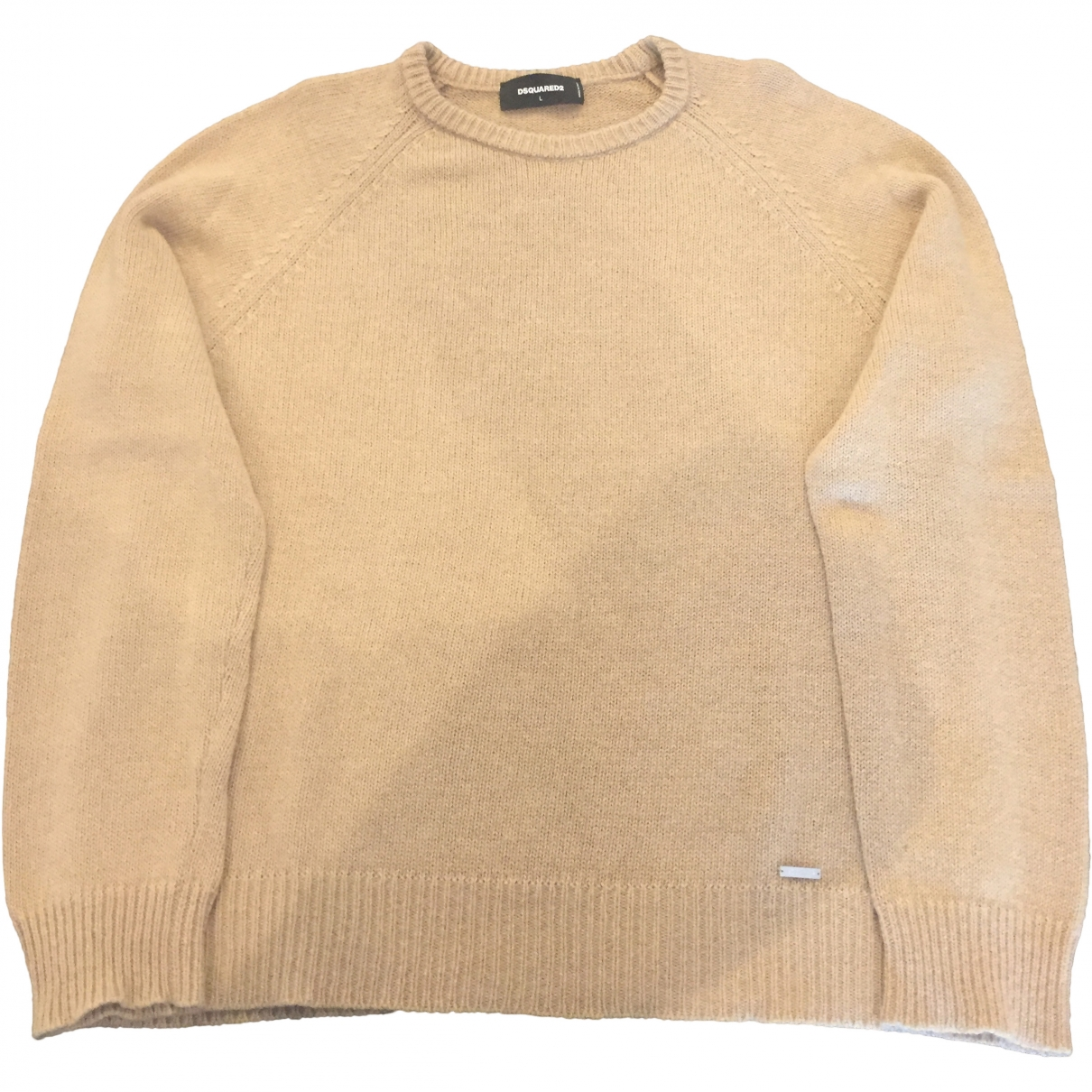 Dsquared2 \N Beige Wool Knitwear & Sweatshirts for Men L International