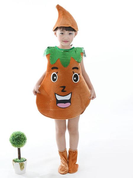 Milanoo Halloween Food Costume Big Potato Kid Cosplay Costume