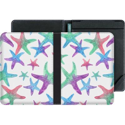 tolino vision 4 HD eBook Reader Huelle - Starfish Print von Becky Starsmore
