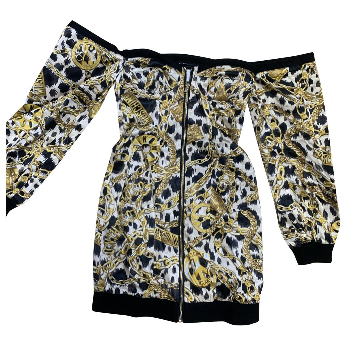 Moschino For H&m \N Kleid in  Schwarz Polyester