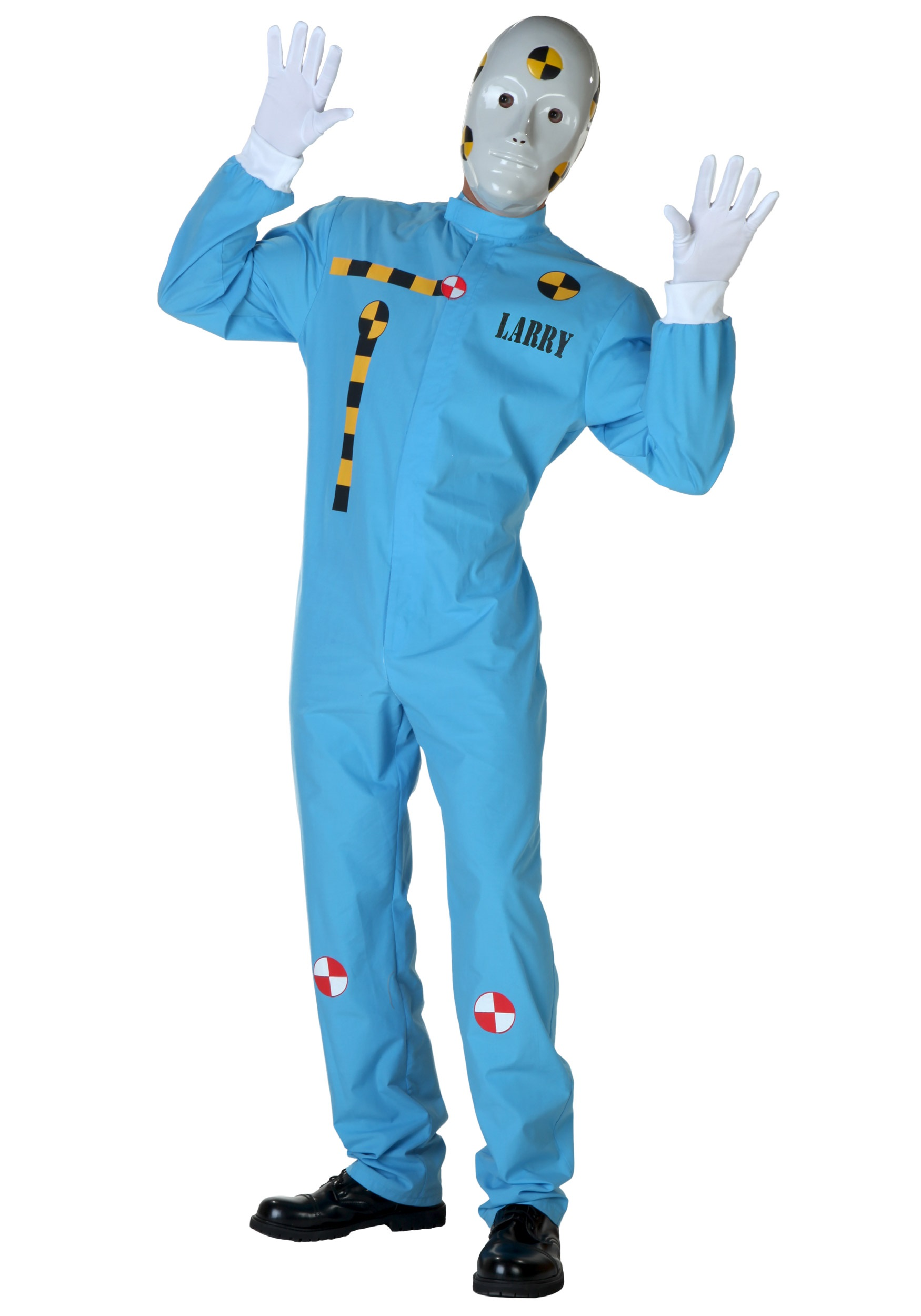 Crash Test Dummy Costume for Men