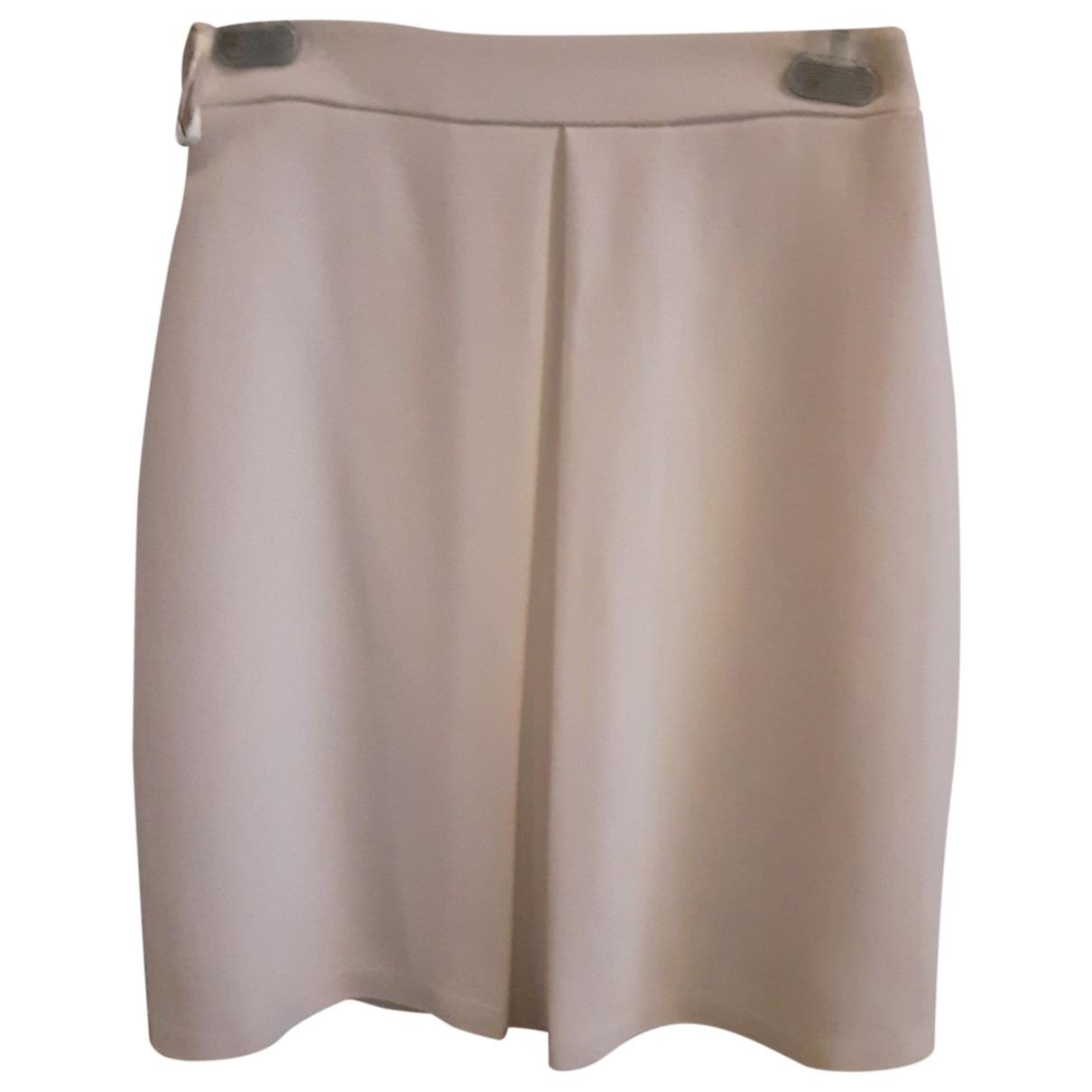 Elisabetta Franchi \N White skirt for Women 40 IT