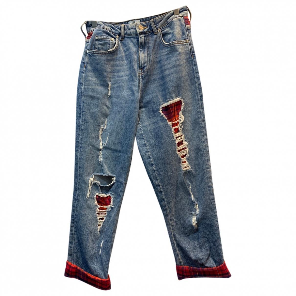 Gigi Hadid X Tommy Hilfiger \N Blue Denim - Jeans Jeans for Women 28 US