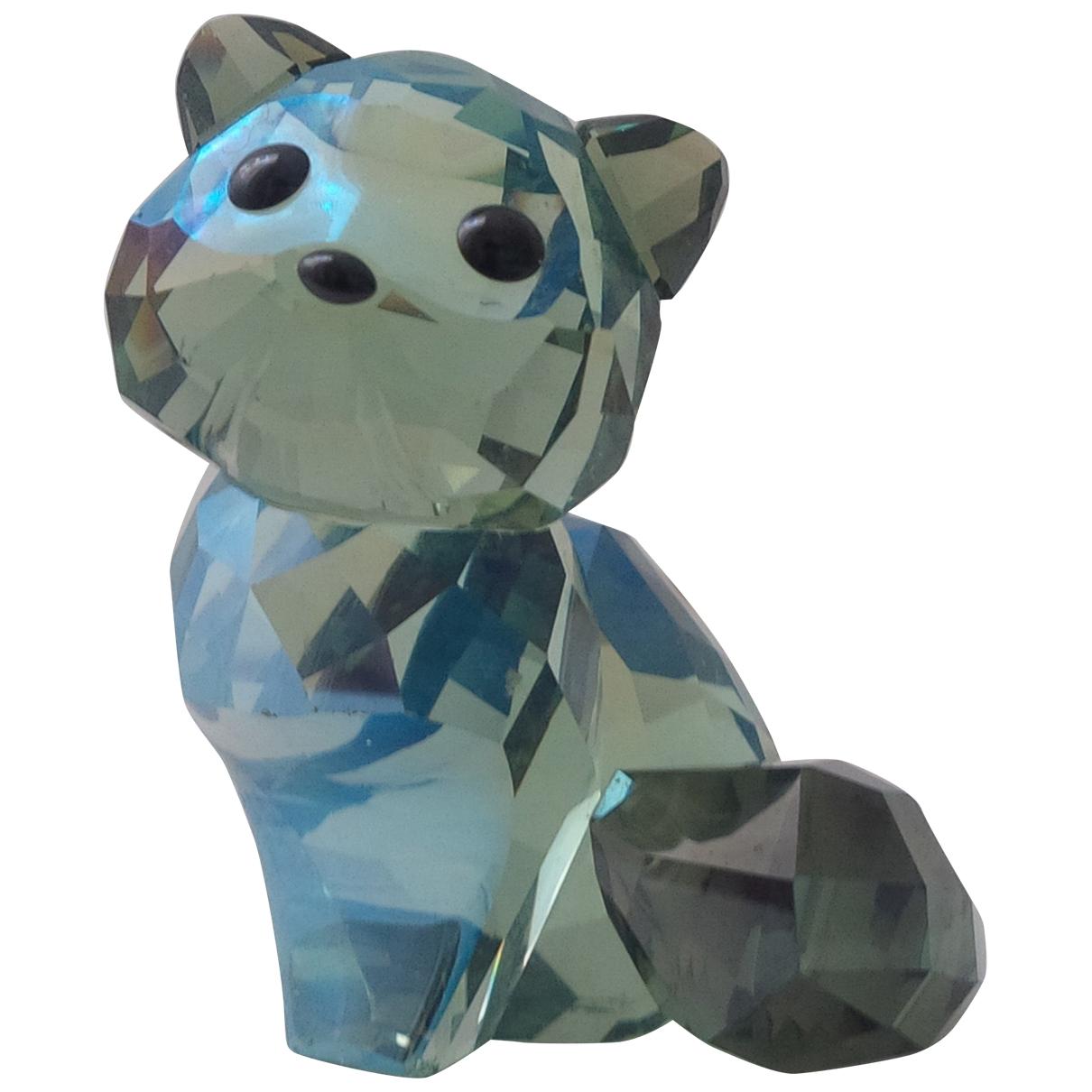 Swarovski \N Accessoires und Dekoration in  Blau Kristall