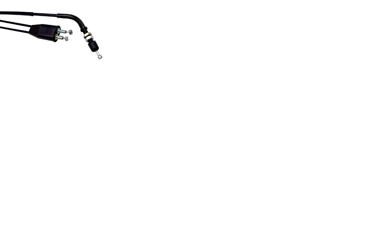 Motion Pro 05-0415 Black Vinyl Throttle Push-Pull Cable Set 05-0415