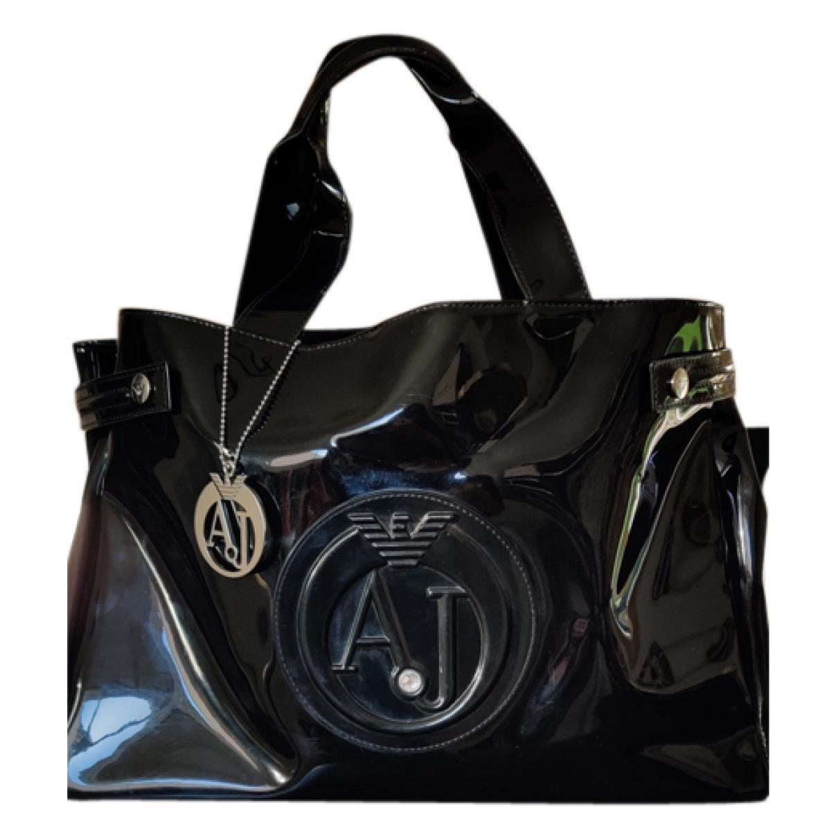 Armani Jeans \N Handtasche in  Schwarz Kunststoff