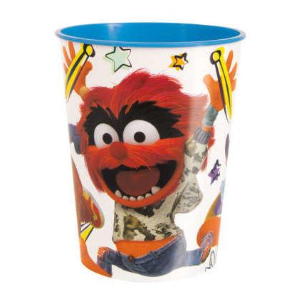 Coupe en plastique 16oz Stadium Disney Muppet Babies