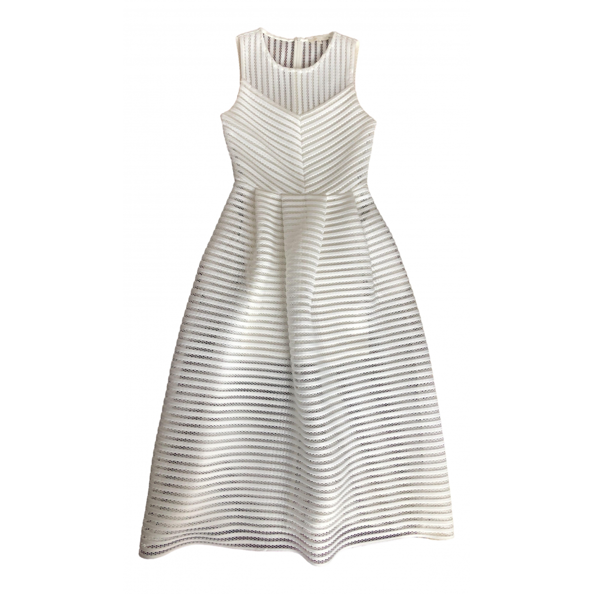Maje \N White dress for Women 38 FR