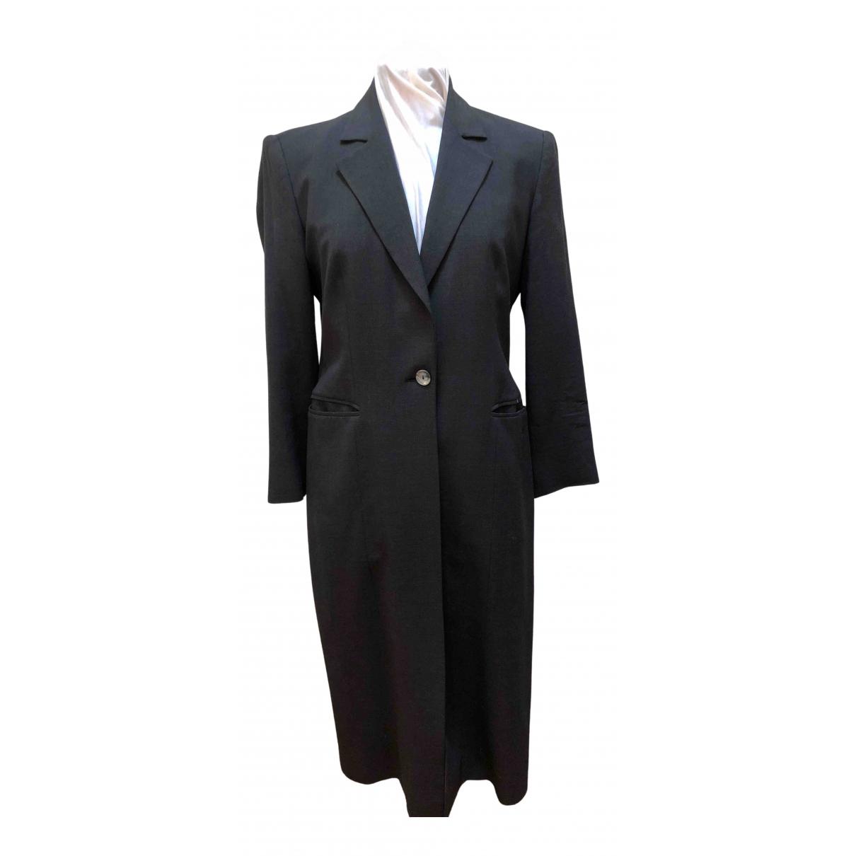 Gianfranco Ferre - Manteau   pour femme en laine - gris