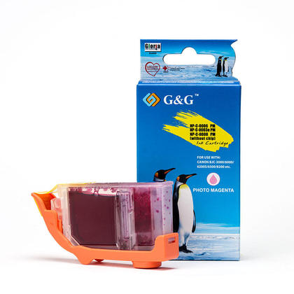 Compatible Canon BCI-3ePM - BCI-3e cartouche d'encre magenta photo - G&G