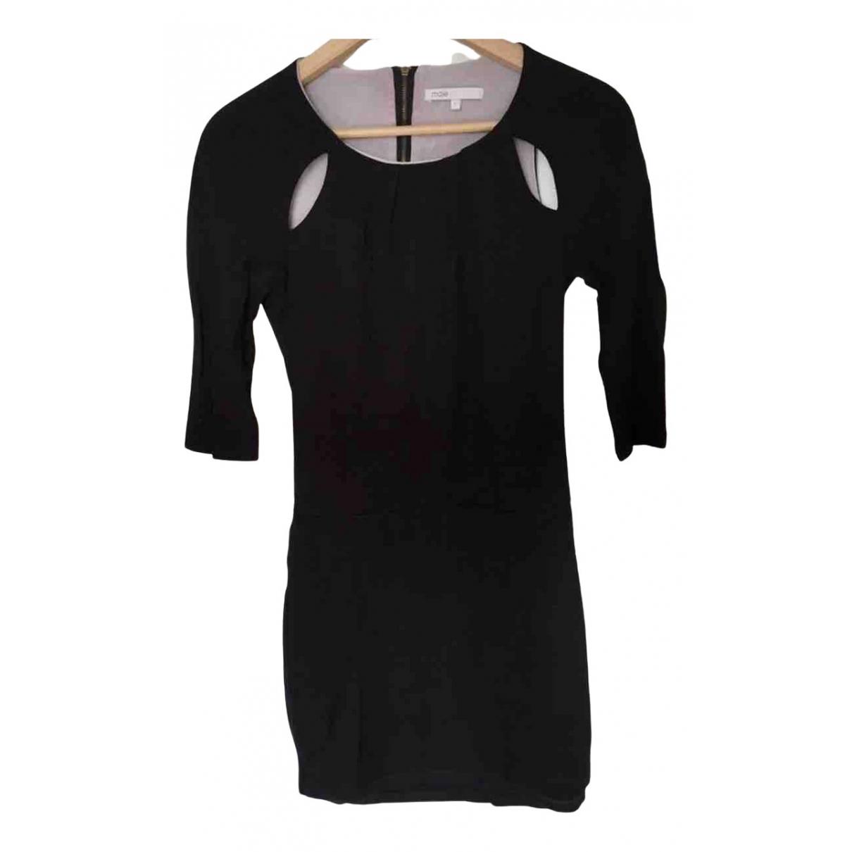 Maje N Black Cotton dress for Women 1 US
