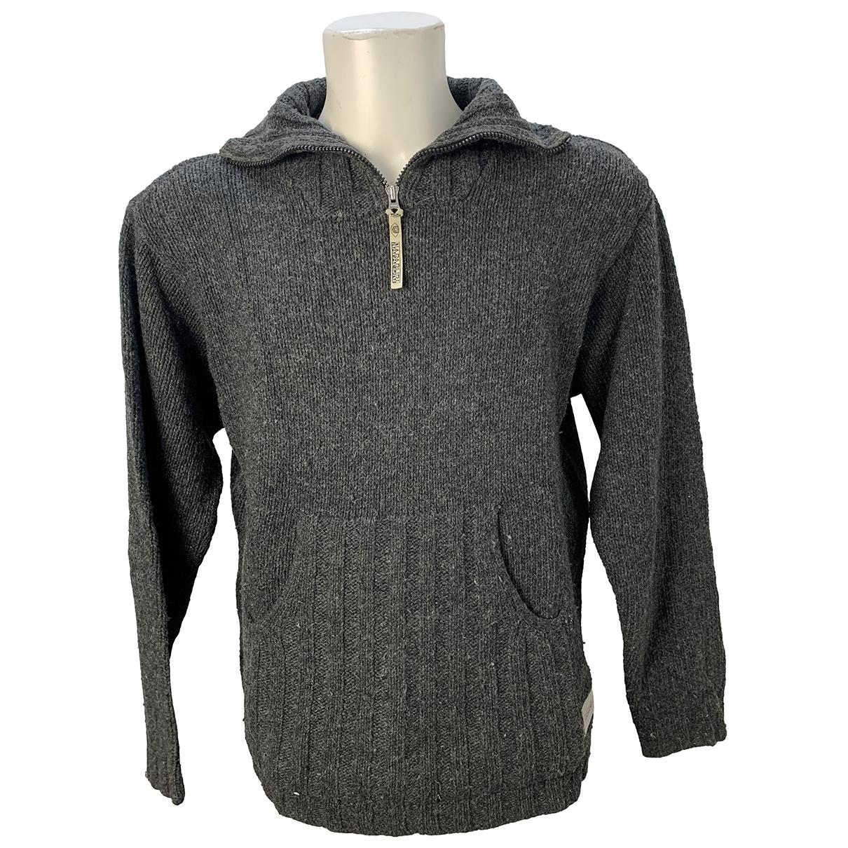 Napapijri \N Pullover.Westen.Sweatshirts  in  Grau Wolle