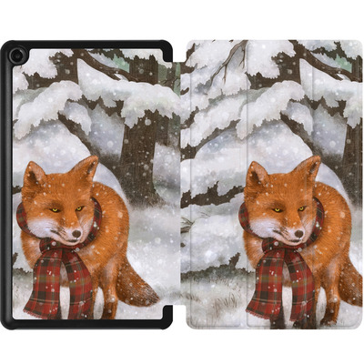 Amazon Fire 7 (2017) Tablet Smart Case - Winter Fox von Terry Fan
