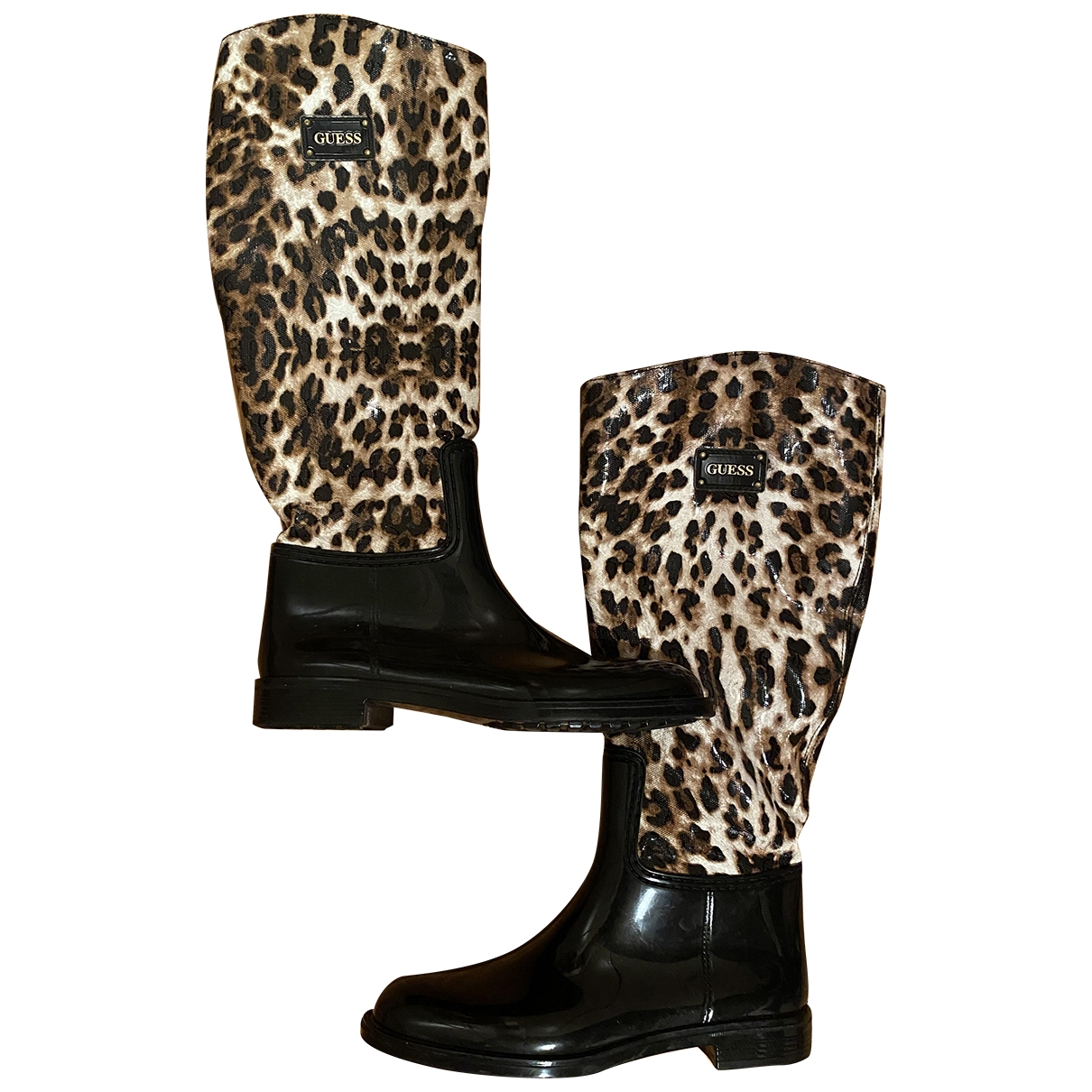 Guess \N Black Boots for Women 39 EU