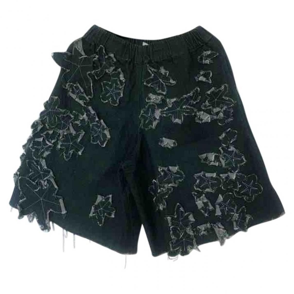 Marques Almeida \N Shorts in  Gruen Denim - Jeans