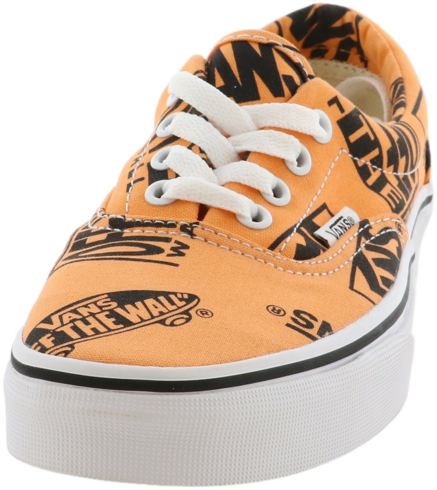 Vans Era Logo Mix Tangerine / Black Low Top Canvas Women' - 6M 4.5M