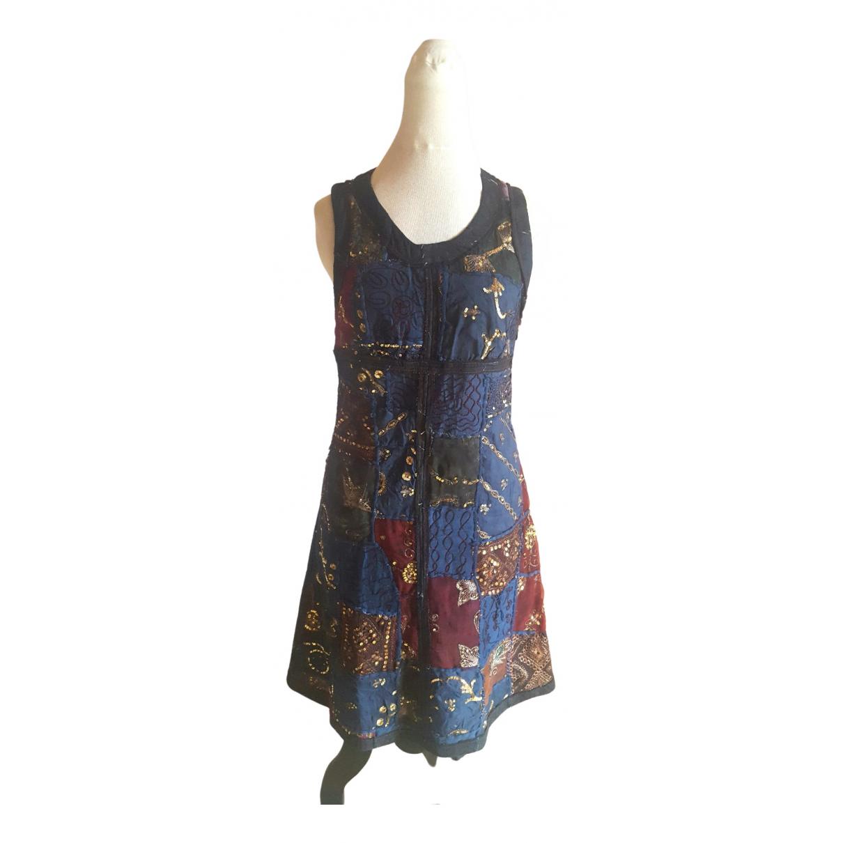 Jean Paul Gaultier \N Blue Cotton dress for Women 40 FR