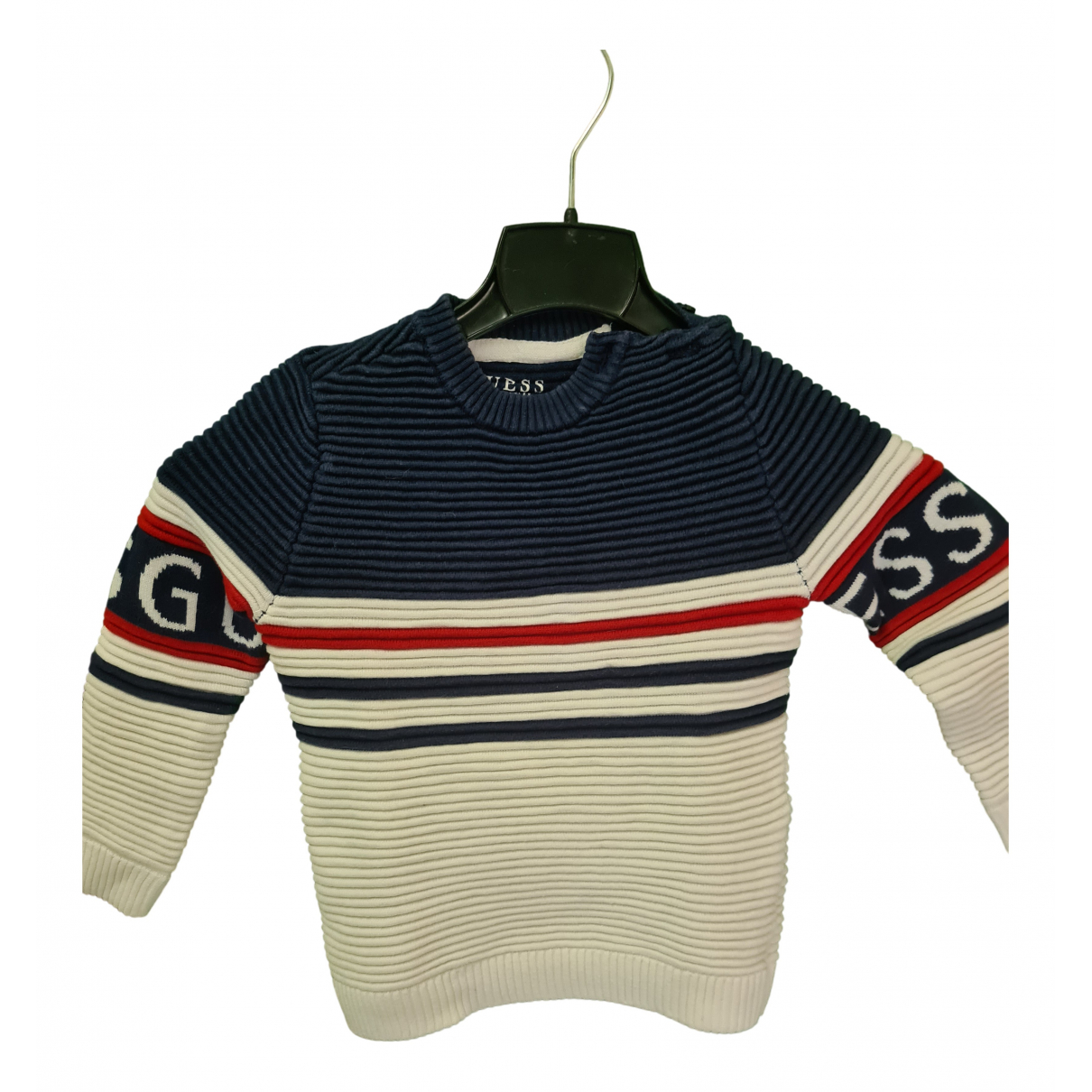 Guess \N White Cotton Knitwear for Kids 18 months - until 32 inches UK