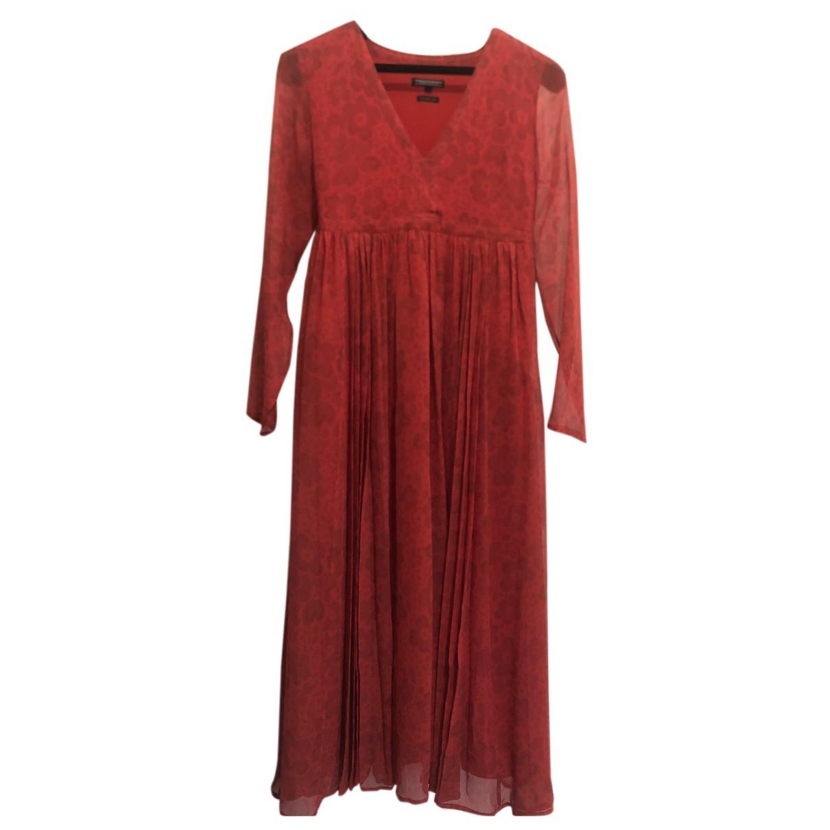 Tommy Hilfiger - Robe   pour femme - rouge