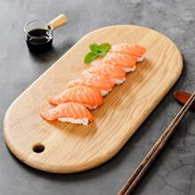 1pc Wooden Sushi Tray