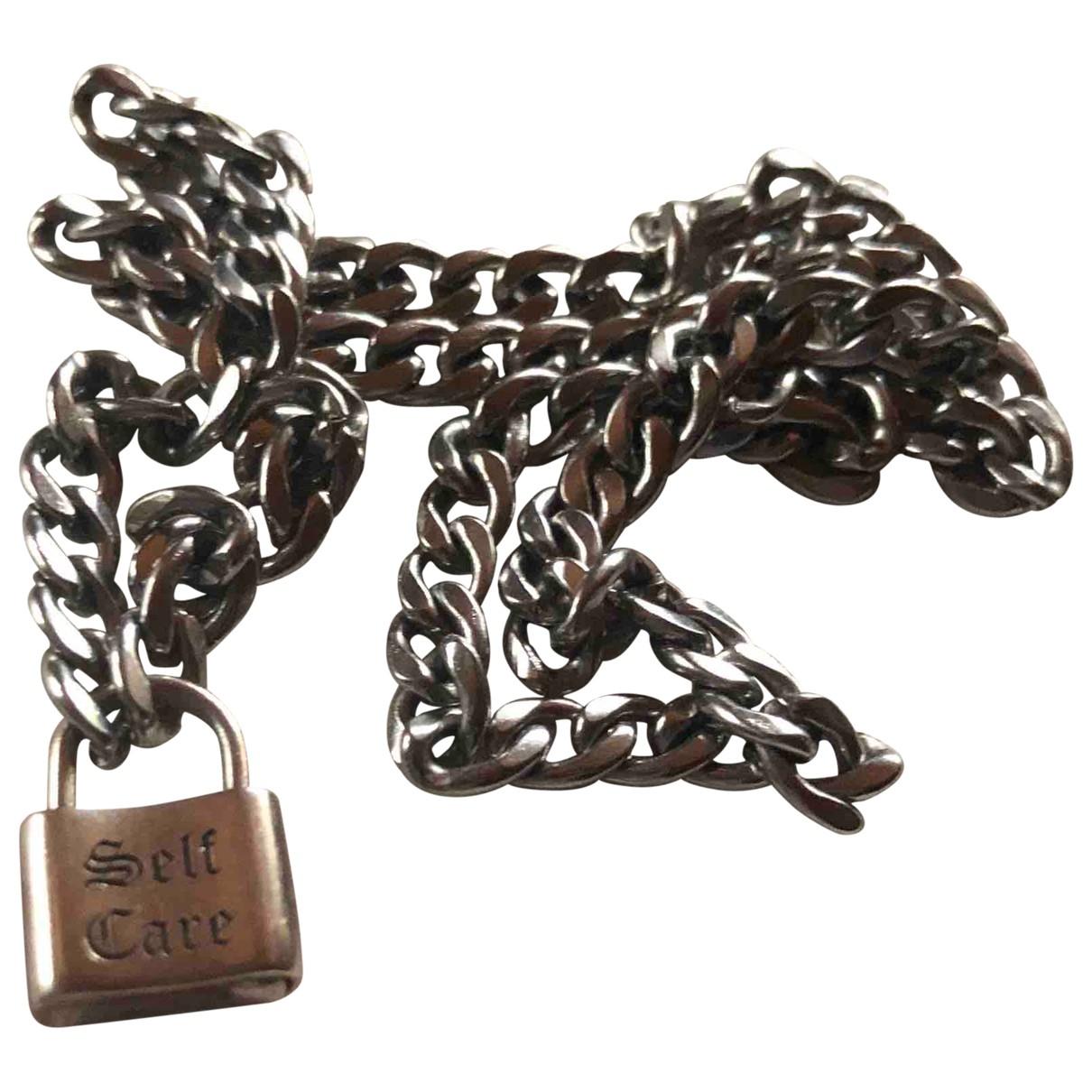 - Collier   pour femme en acier - metallise