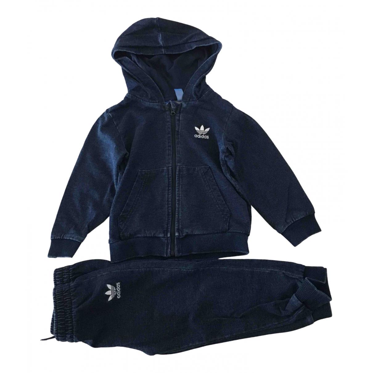 Adidas - Les ensembles   pour enfant en denim - bleu