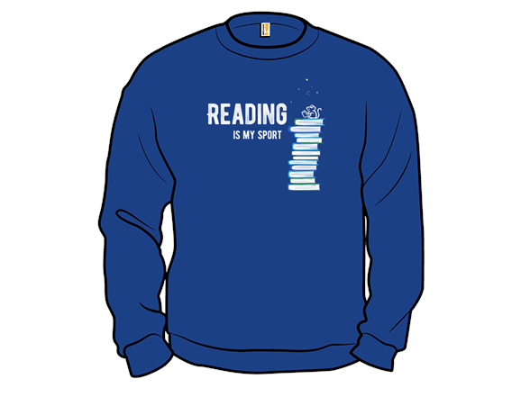Reading Is My Sport T Shirt